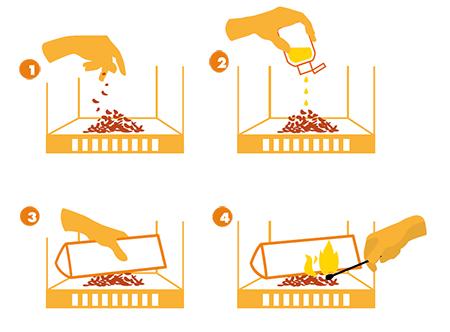 comment utiliser bois de chauffage Crépito premium ?