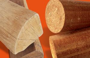 Bûche de bois densifié et bûche de bois traditionnel : quelles différences ?