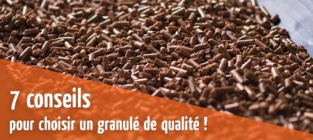 7 conseils pour choisir un pellet (granulés de bois) de qualité