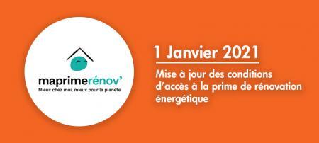MaPrimeRénov' : la prime de transition énergétique évolue