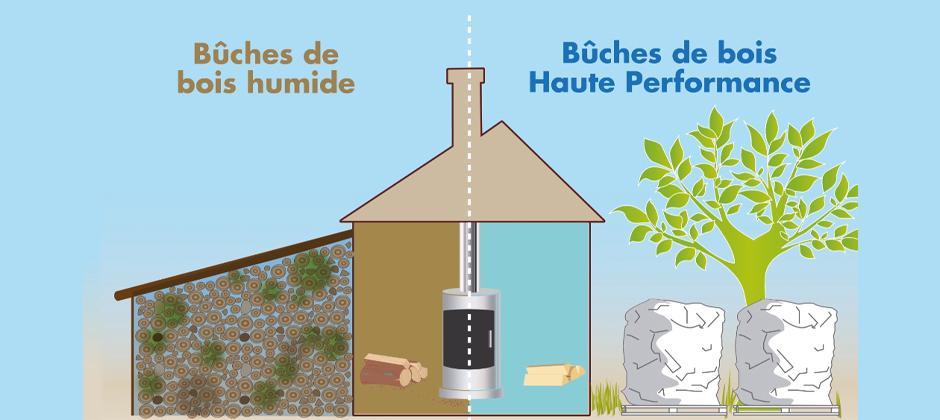 Bois sec ou humide : quel bois de chauffage privilégier ?