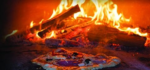 Bûches spéciales cuisson feu de bois